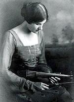 Rebecca Clarke with Viola - By Hopkins Studio, Denver, Colarado