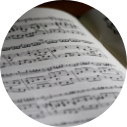 Music piece 127 x 127