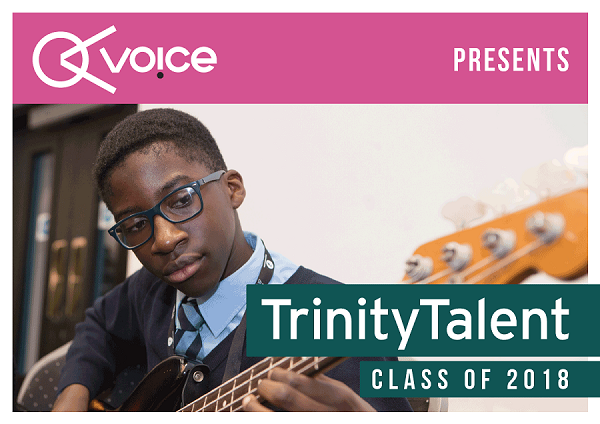 Trinity Talent Class of 2018