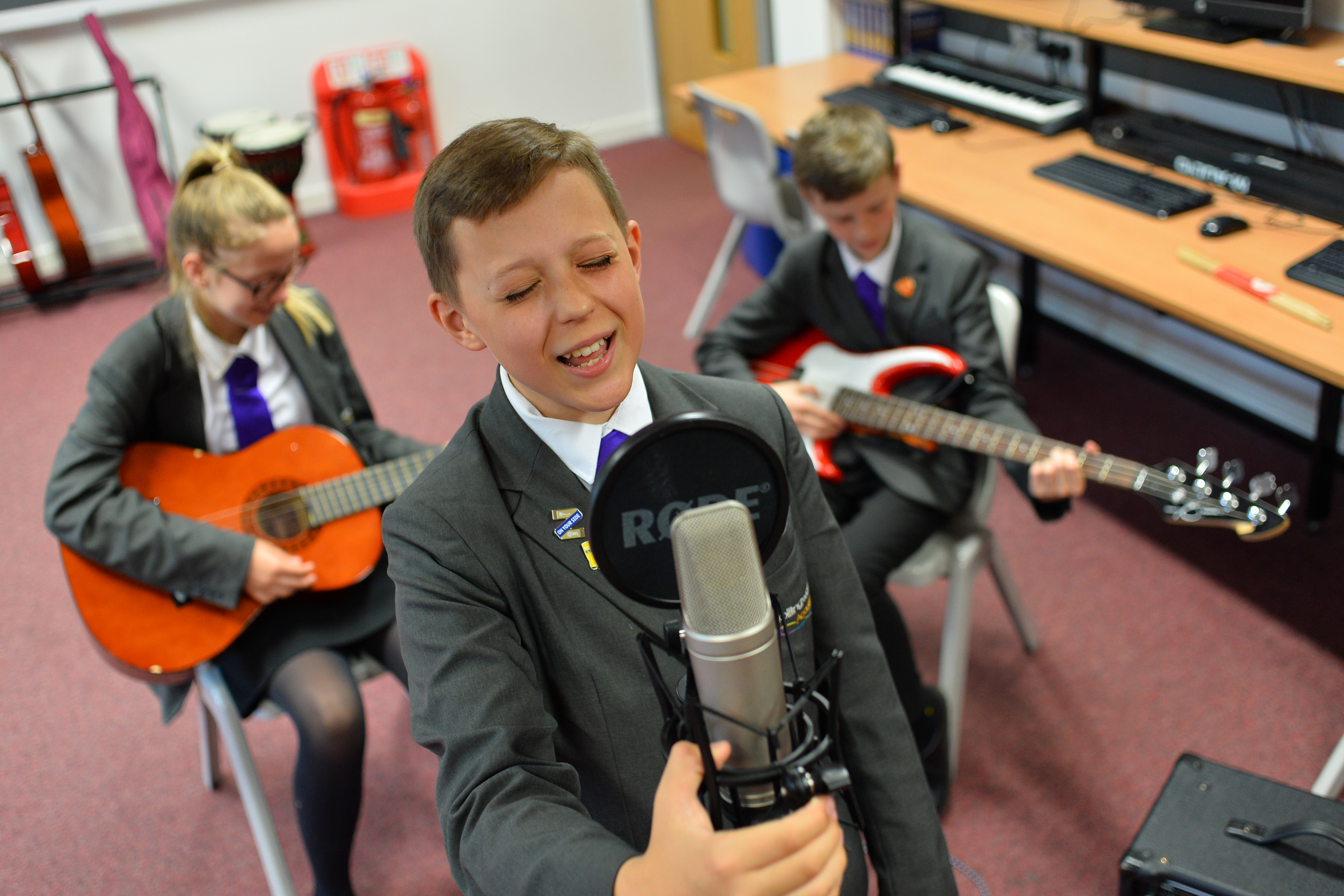Make music the beating heart of your school