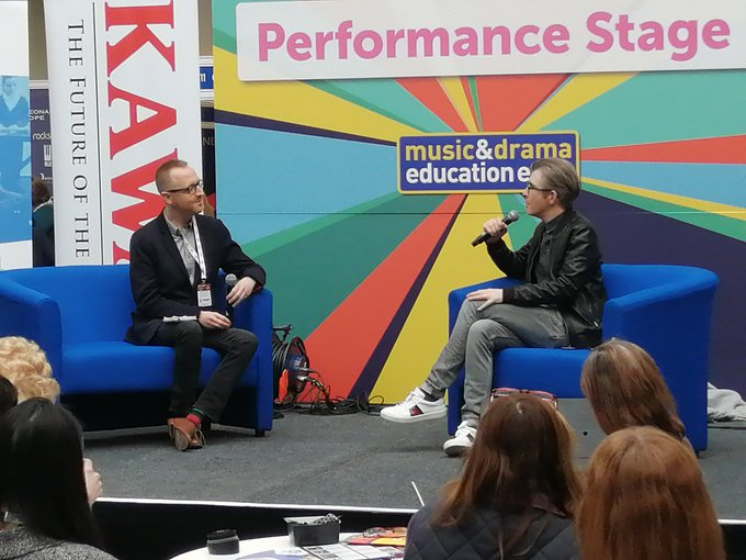 Gareth Malone at London Music and Drama Expo 2020